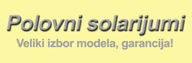 Polovni solarijumi