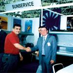 SunService na Sajmu kozmetike 2002. godine